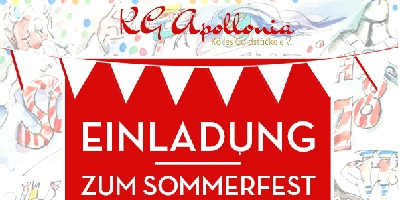 KG Apollonia Sommerfest am 1.9.2019