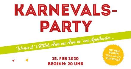Karnevalsparty am 15.2.2020