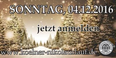 Nikolauslauf am 4.12.2016