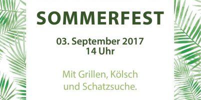 Sommerfest am 3.9.2017