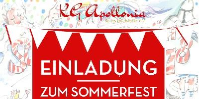 KG Apollonia Sommerfest am 1.9.2019